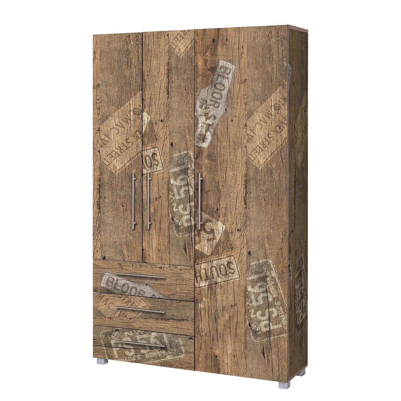 Armoire de vestibule Aliane III - Imitation chêne du Panama, Schildmeyer
