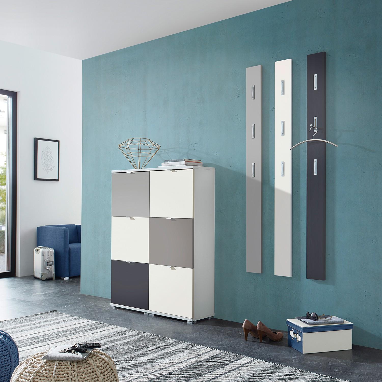 home24 Garderobenpaneel-Set Colorado (3er-Set) | Flur & Diele > Garderoben > Garderobenpaneele | Gelb | Germania