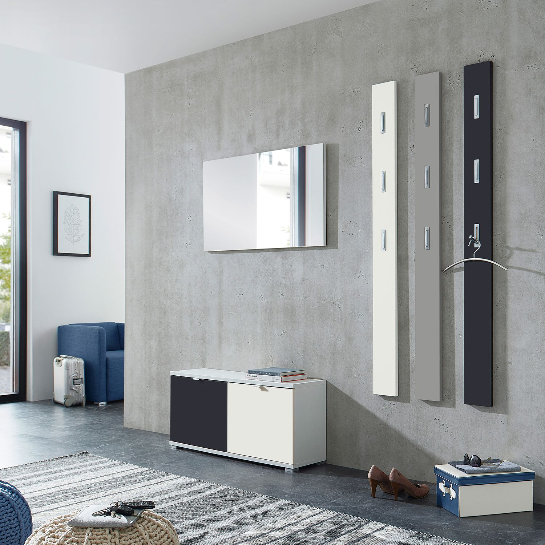 home24 Garderobenset Colorado Matt V (5-teilig) | Flur & Diele > Garderoben > Garderoben-Sets | Grau | Holzwerkstoff | Germania