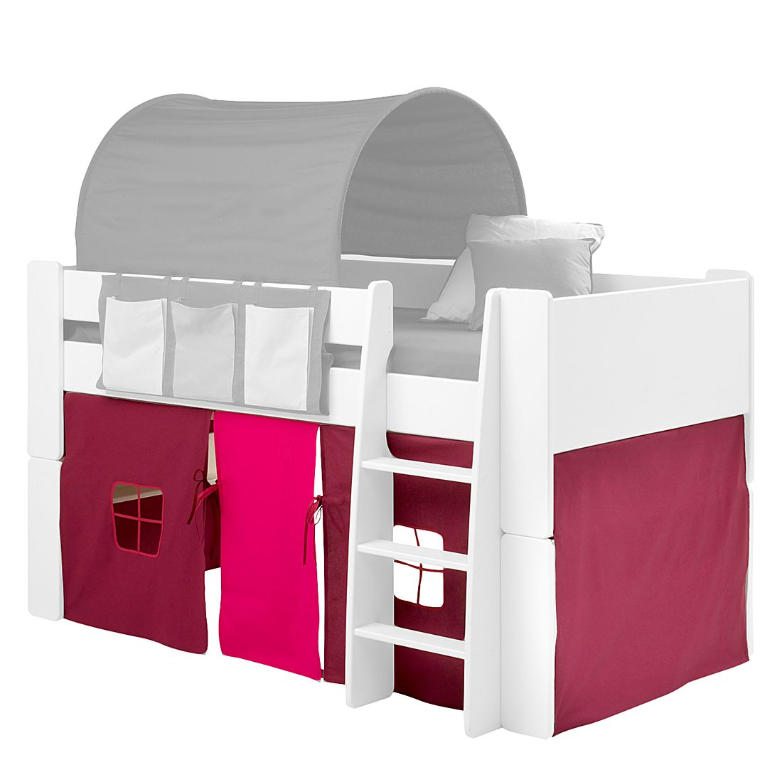 Set di accessori letto per bambini Steens for Kids - Purpora/Rosa, Steens