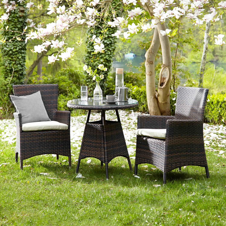 Gartenstuhl Paradise Lounge I (2er-Set)
