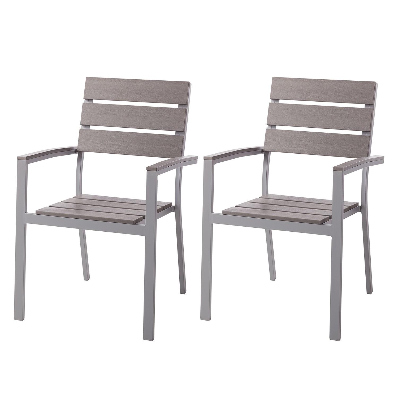 Chaise de jardin Kudo IV (lot de 2)