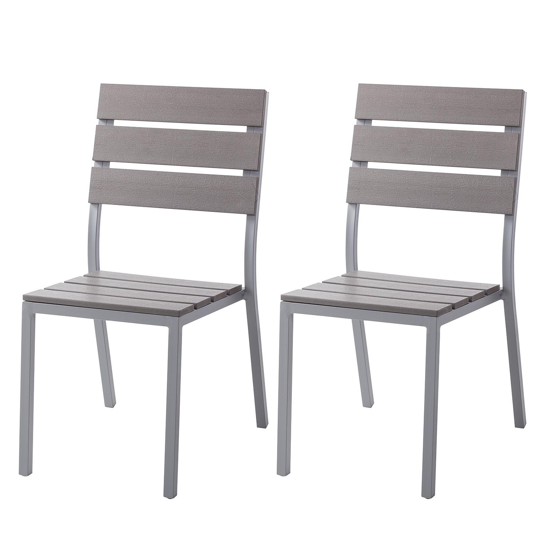 Chaise de jardin Kudo V (lot de 2)