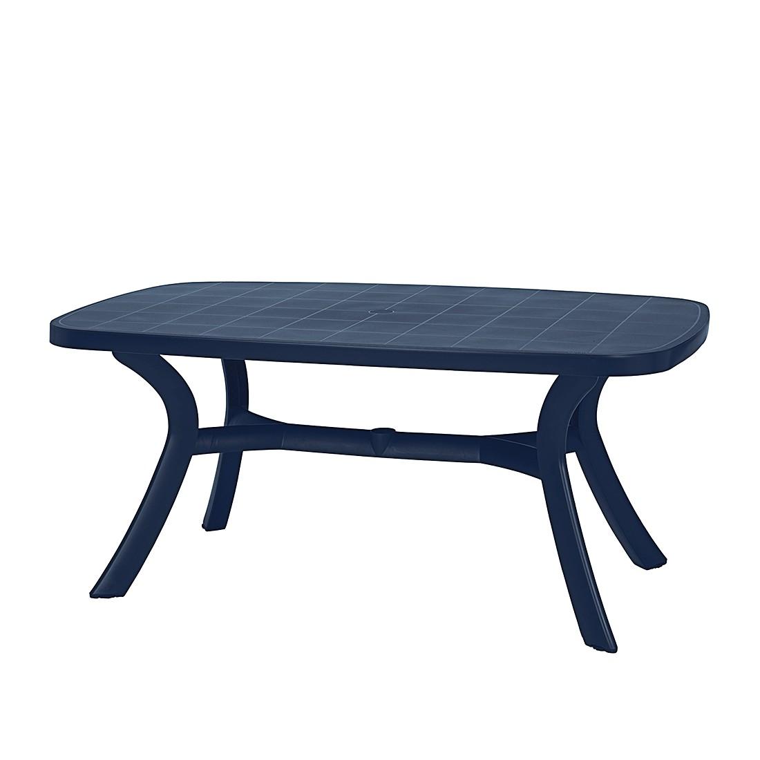 Gartentisch Kansas - Kunststoff - Blau, Best Freizeitmöbel