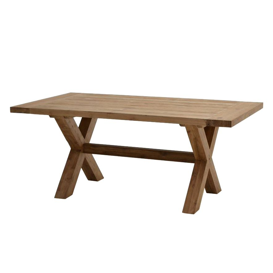 Table de jardin Lincoln Solid - Teck massif, Ploß
