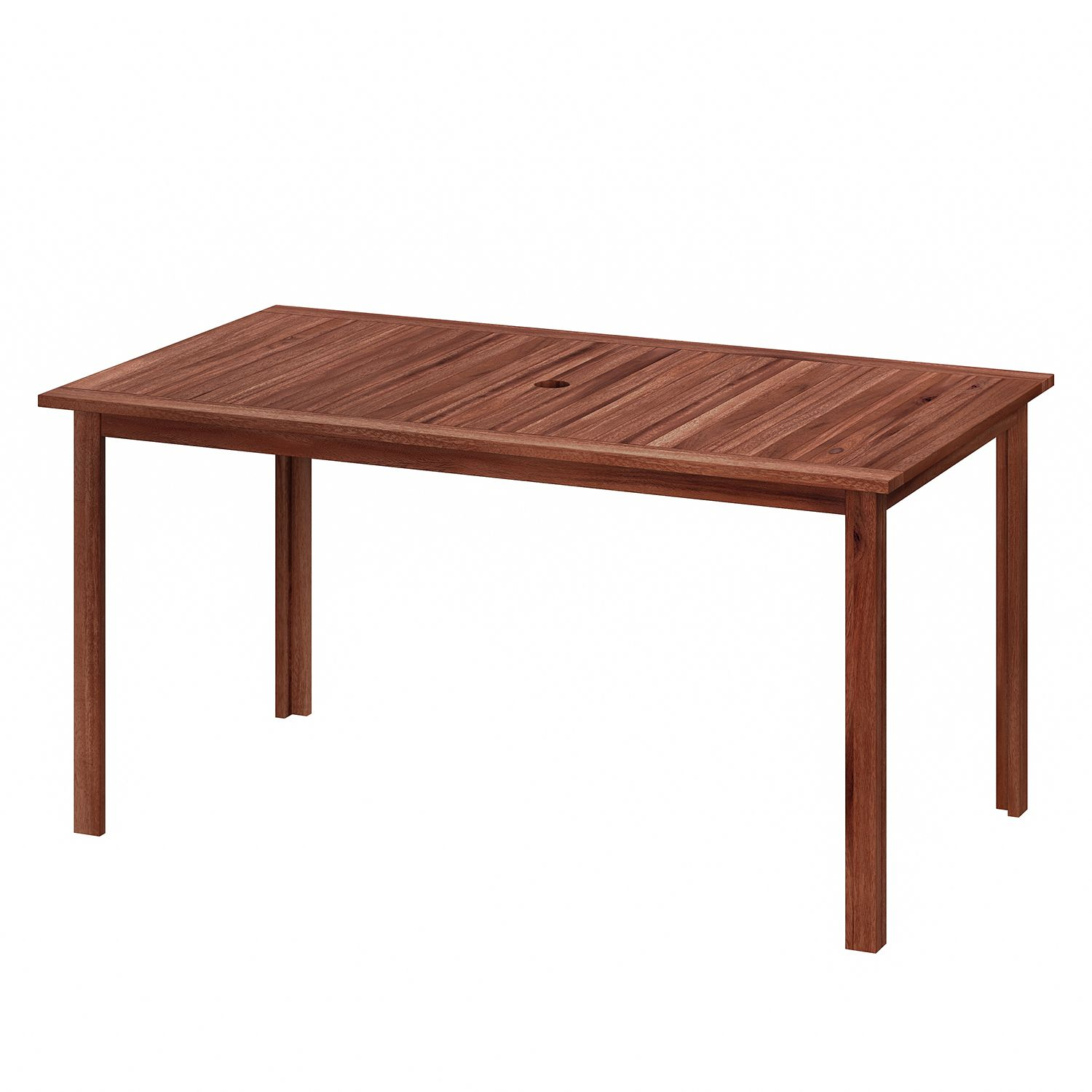 Table de jardin Mimo - Acacia massif - Marron, Ars Natura