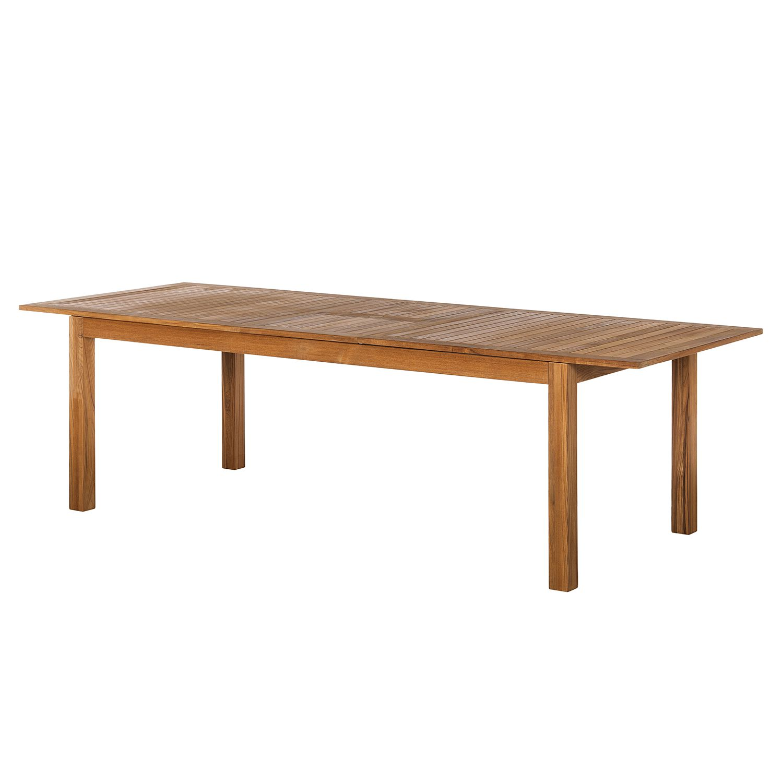 Table de jardin Teakline Exklusiv (extensible) - Teck massif, Ars Natura