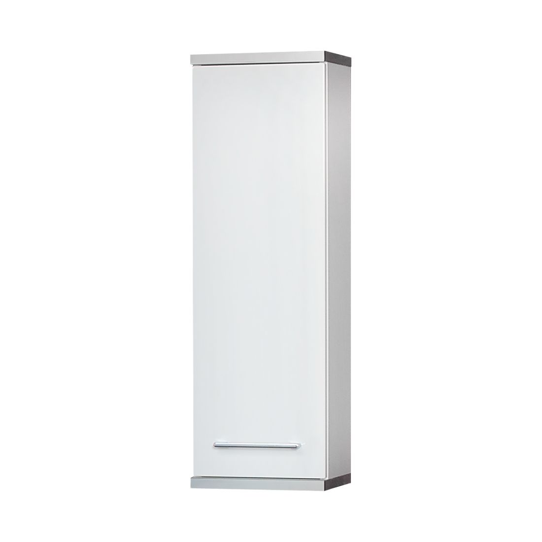 Armoire suspendue Gela - 1 porte - Blanc brillant, Kesper Badmöbel
