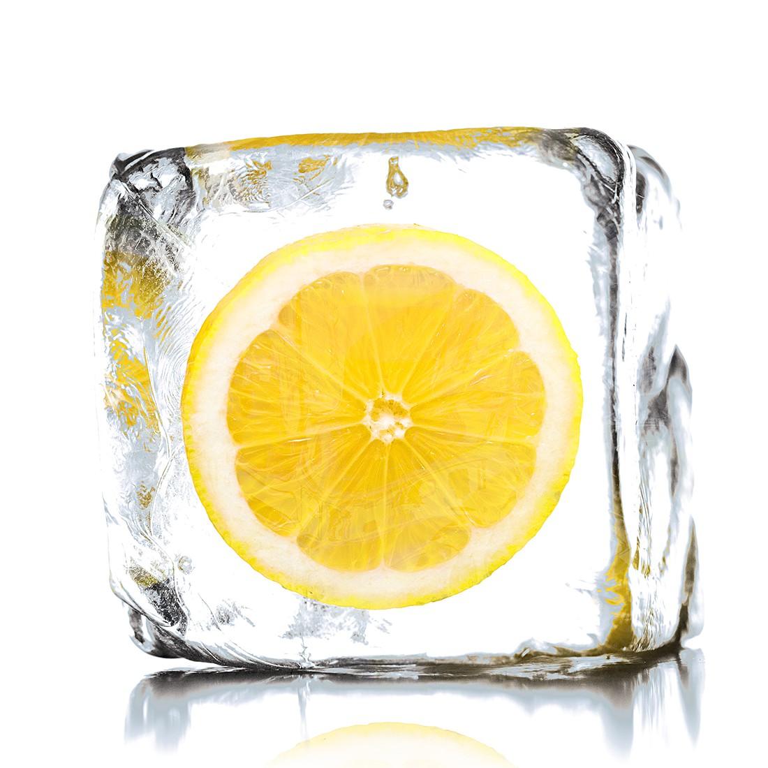 Afbeelding achter glas Lemon Ice print achter glas, Pro Art