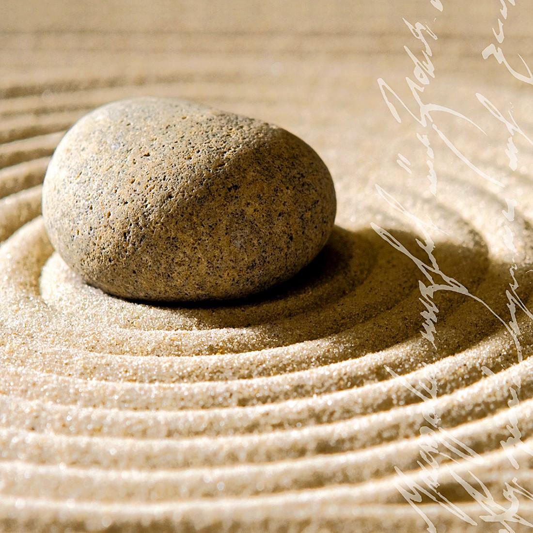 Print achter glas Sand Stone 50x50, Pro Art