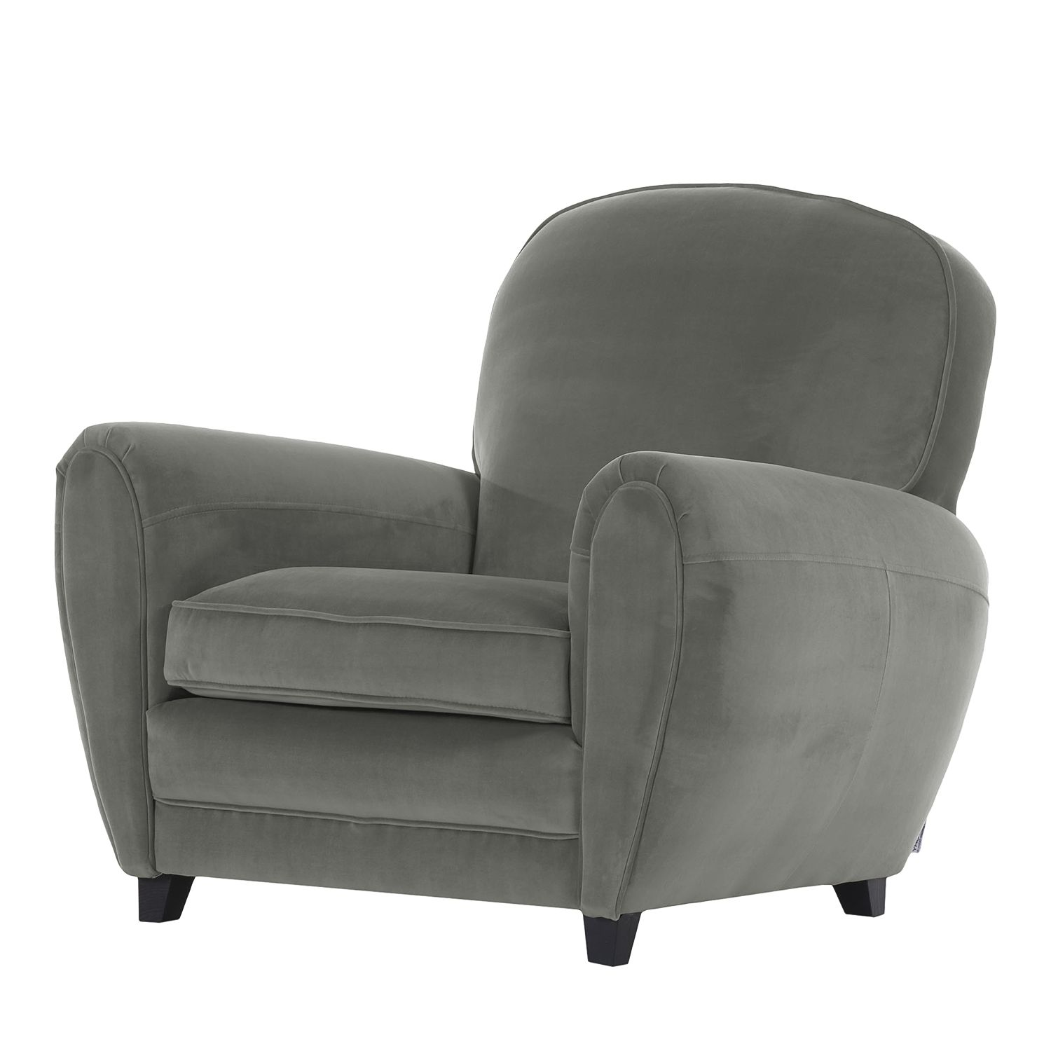 goedkoop Fauteuil Marre microvezel Grijs Jack and Alice