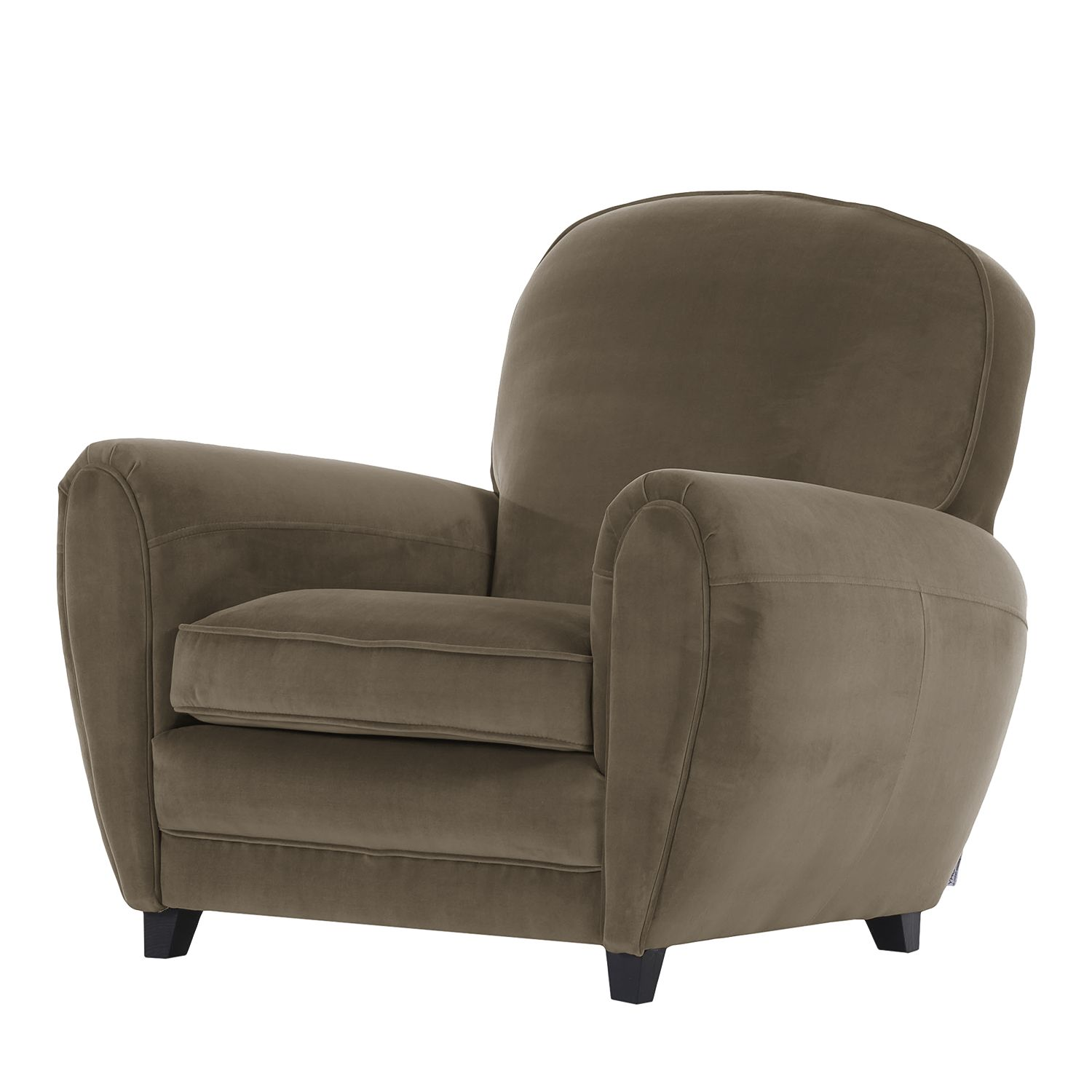 goedkoop Fauteuil Marre microvezel Nootmuskaat Jack and Alice