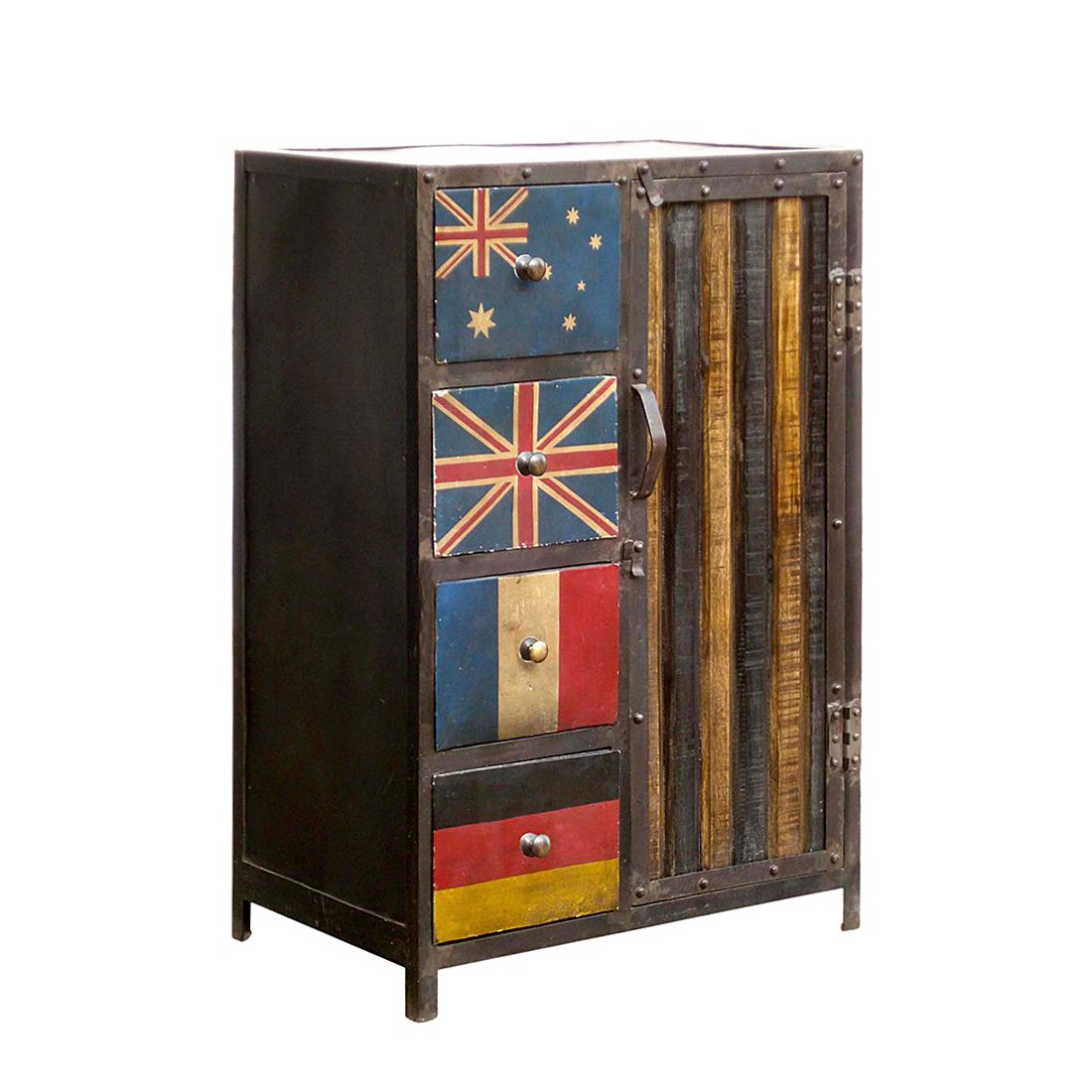 Commode Bandera II, ars manufacti