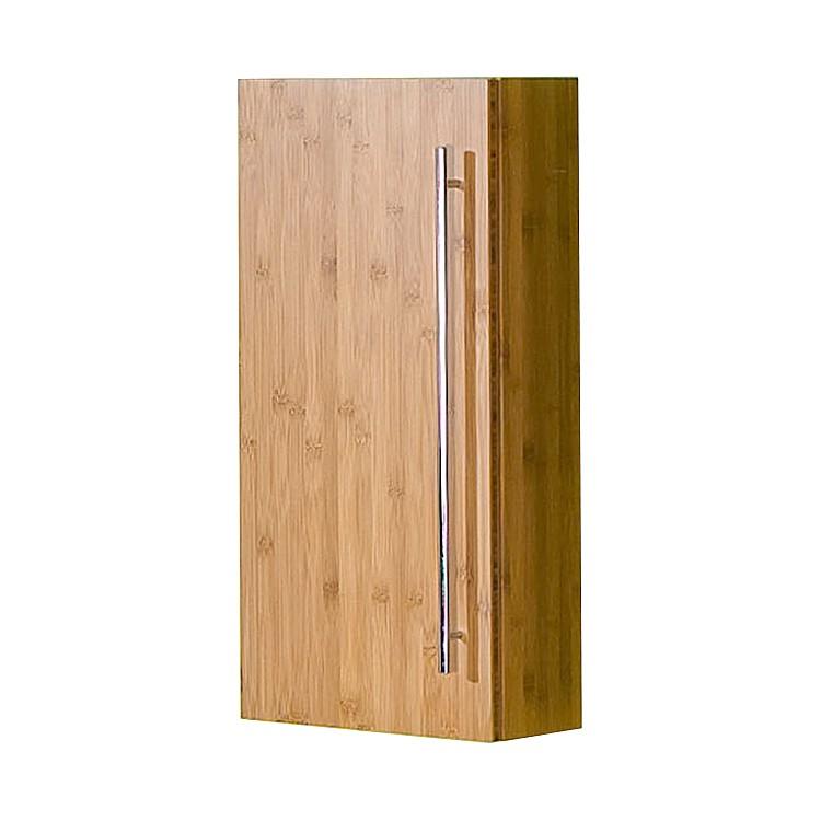 Armoire suspendue Bern - Bambou verni naturel, Schildmeyer