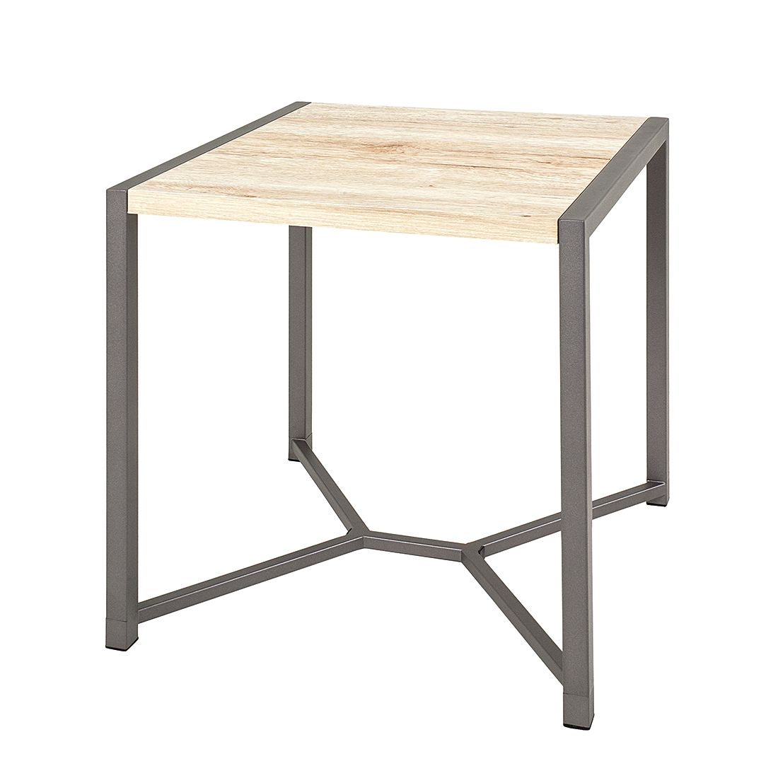 Table d'appoint Tammy II - Imitation chêne de San Remo / Anthracite, Home Design