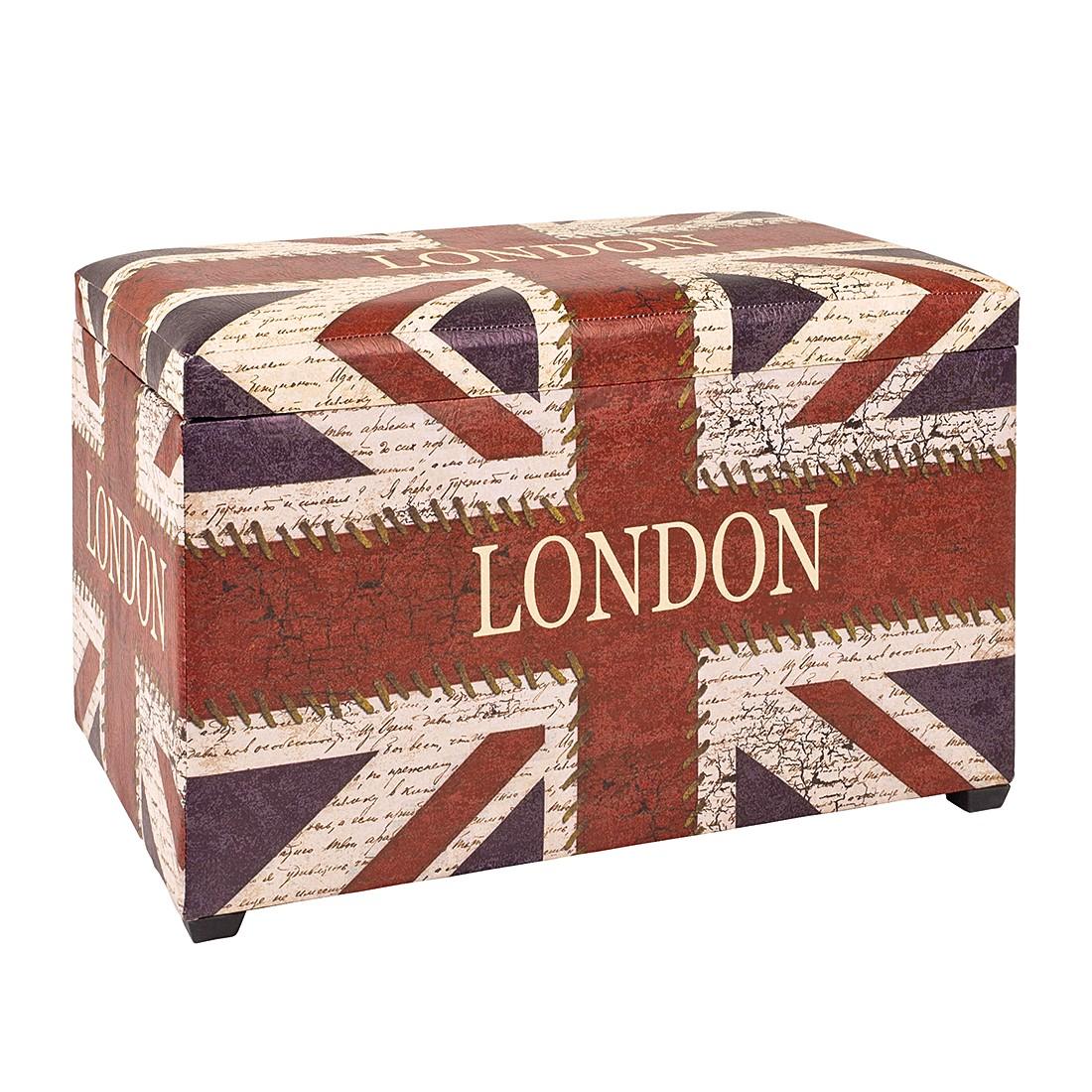Sitztruhe Union Jack Vintage, Home Design