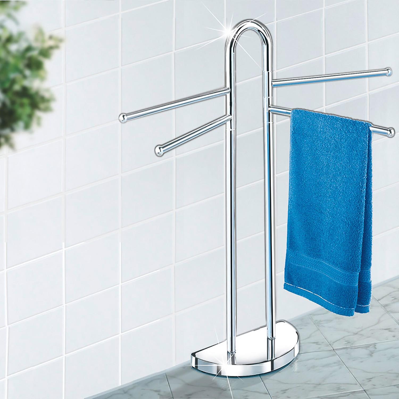 Home24 Handdoek- en kledingstandaard, WENKO