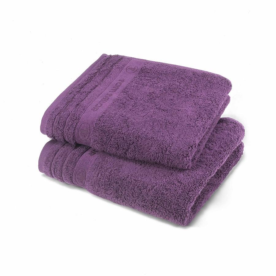 home24 Handtuch Tom Tailor | Bad > Handtücher | Lila | Textil | Tom Tailor
