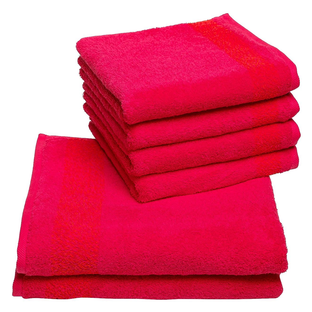 Handdoeken Borgo (6-delige set), Vestio