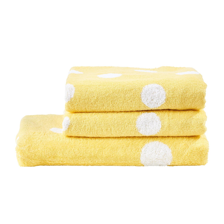 home24 Handtuchset Kemer (3-teilig) | Bad > Handtücher > Handtuch-Sets | Gelb | twentyfour