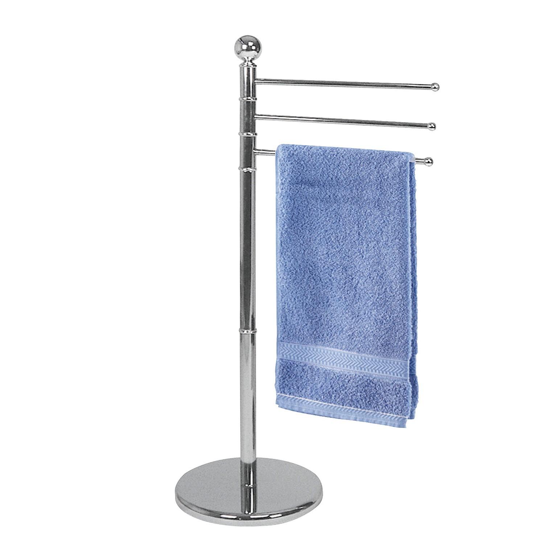 home24 Handtuchstaender Exclusiv I | Bad > Bad-Accessoires > Handtuchhalter | Silber | Metall | WENKO