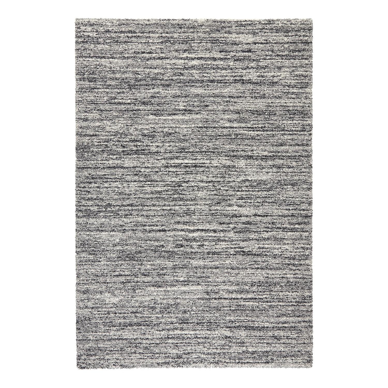 Teppich Gravel - Kunstfaser - Grau - 160 x 230 cm, Top Square