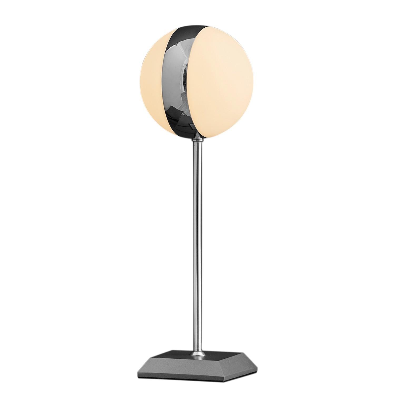EEK A++, Lampe de table Circle - Métal / Verre - 1 ampoule, Herstal