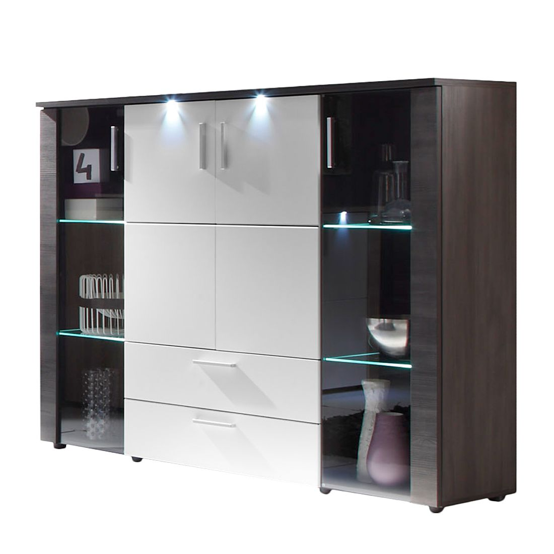 Highboard Bormo (inkl. Beleuchtung)