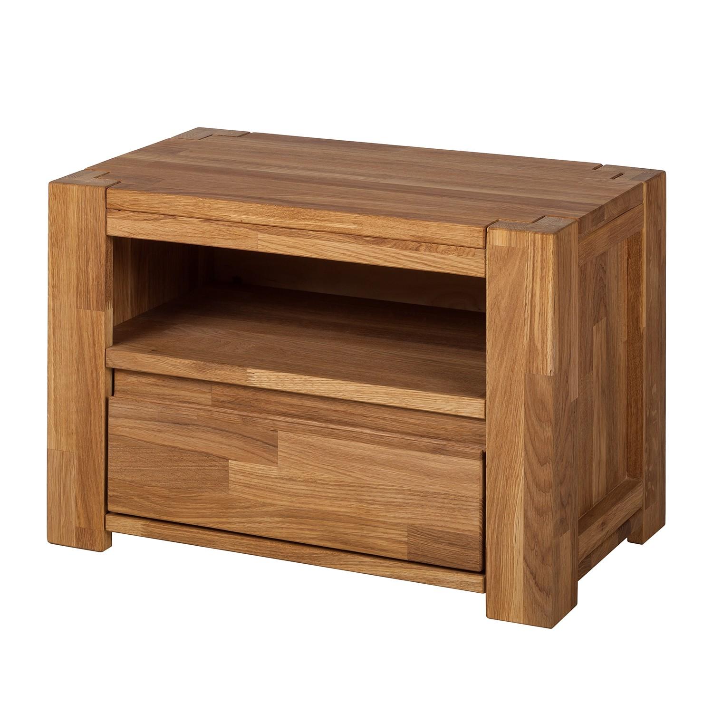 Comodino in legno massello ParosWood - Quercia, Ars Natura