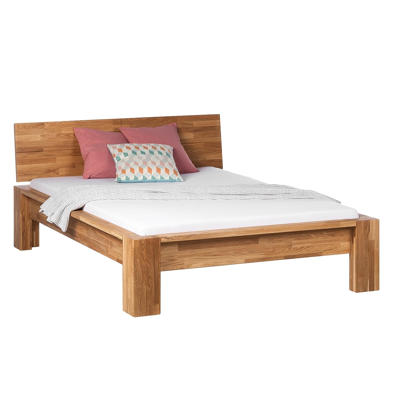 goedkoop Bed ParosWood massief hout 160 x 200cm Eik Ars Natura