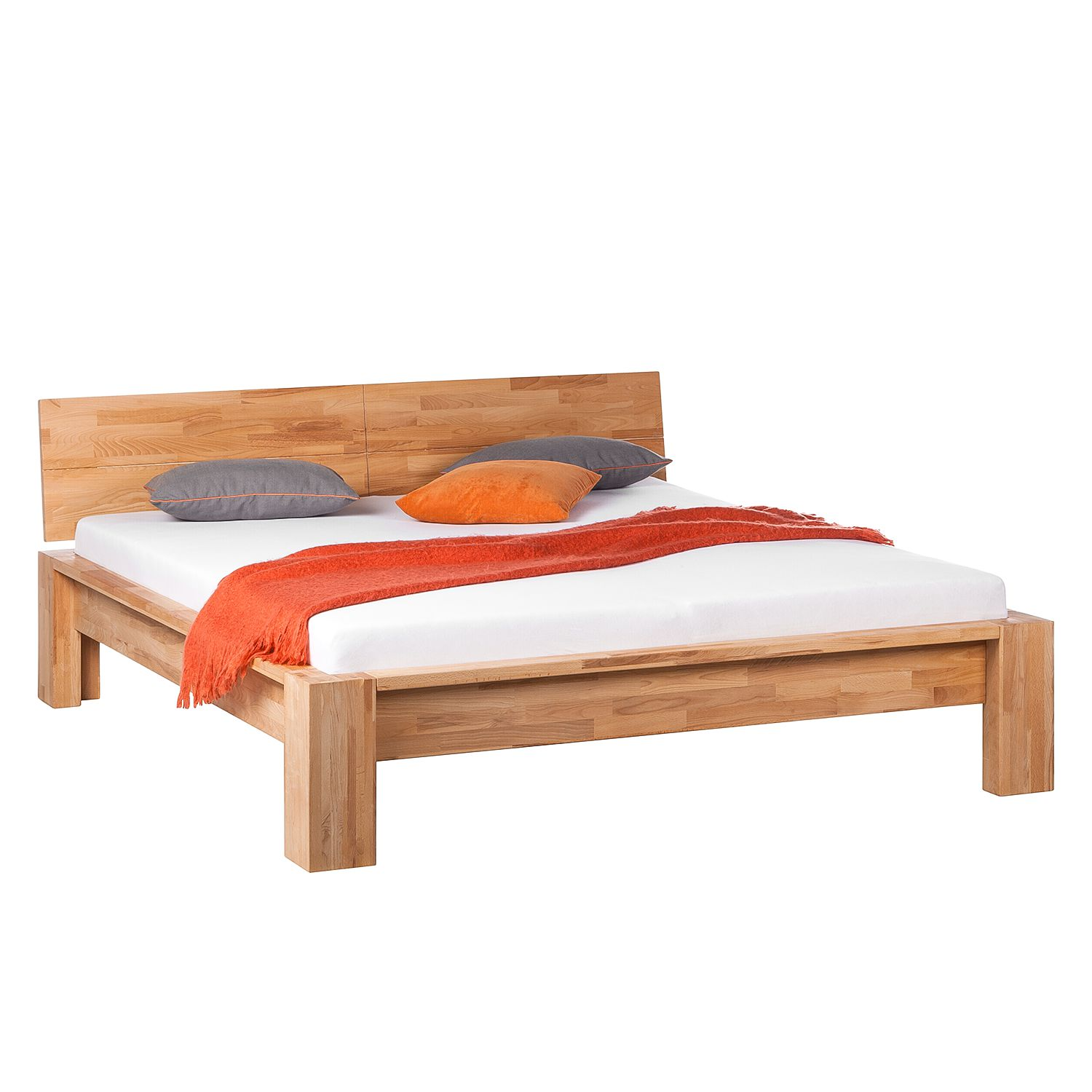 goedkoop Bed ParosWood massief hout 160 x 200cm Beuk Ars Natura