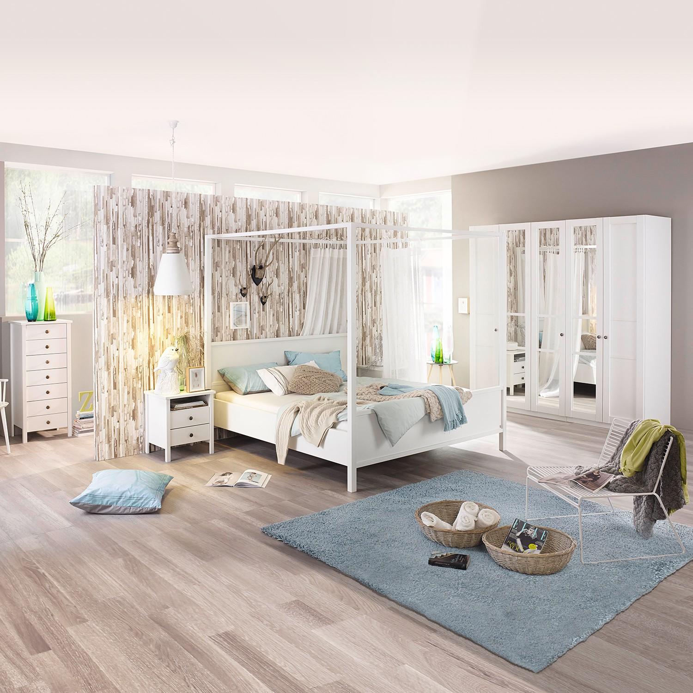 home24 Himmelbett Marit I | Schlafzimmer > Betten > Himmelbetten | Weiss | Rauch Select