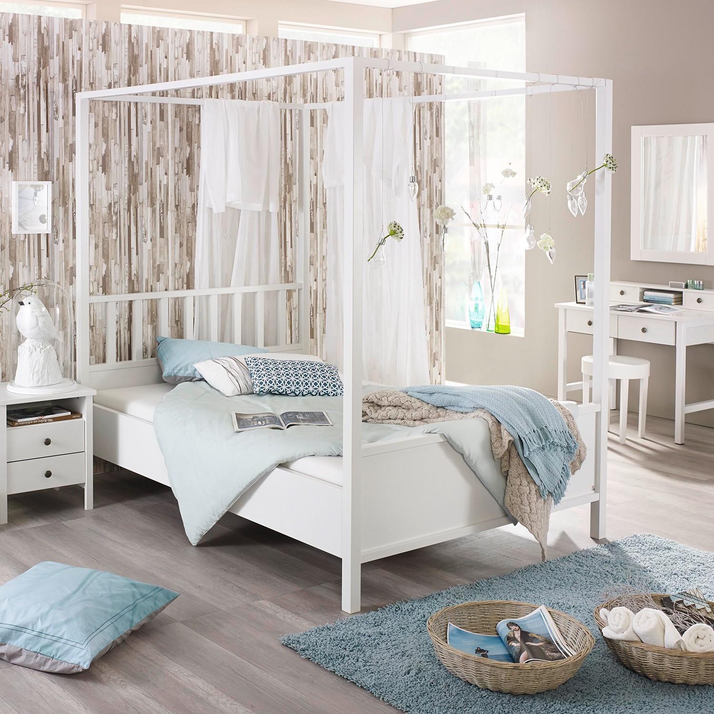 home24 Himmelbett Marit II | Schlafzimmer > Betten > Himmelbetten | Weiss | Rauch Select