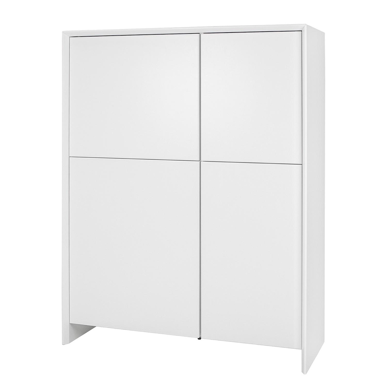 Hochkommode Profil - Weiß, Tenzo