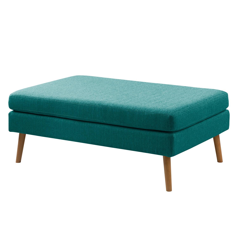 home24 Hockerbank Croom Webstoff   Küche und Esszimmer > Sitzbänke > Einfache Sitzbänke   Blau   Textil   Moerteens