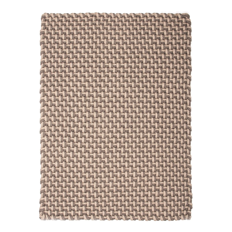 In outdoor teppich pool handgewebt kunstfaser 170 x 240 beige karamell 4628504