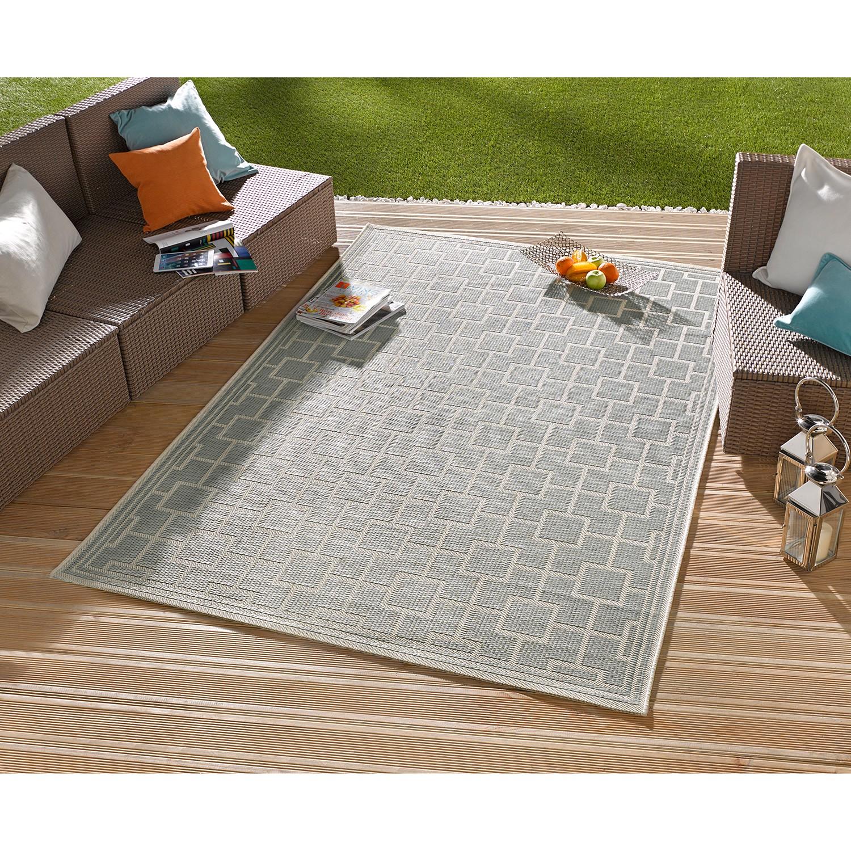 """Outdoor-Teppich """"Bay"""" aus Kunstfaser, taupe (Kopie) Home24"""
