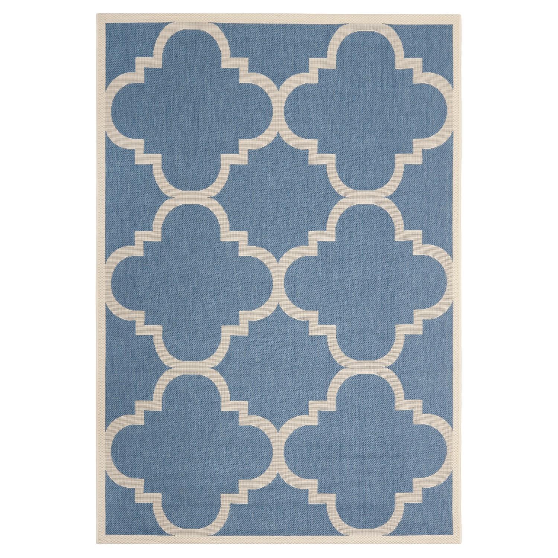 Tapijt Mali blauw beige 121x170cm, Safavieh