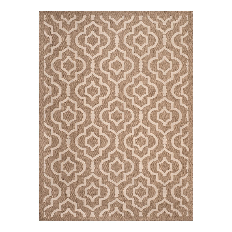 """Outdoor-Teppich """"Mykonos"""" aus Kunstfaser, braun/beige"""