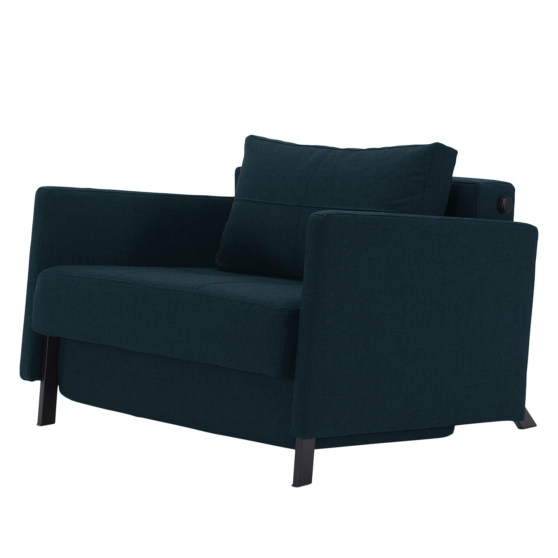 goedkoop Slaapfauteuil Cubed 90 I geweven stof Stof 528 Mixed Dance Blue Innovation Möbel
