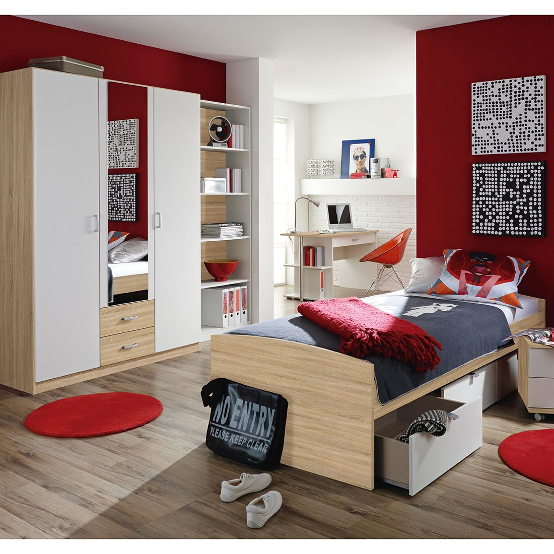 Ensemble de chambre d'ado Point