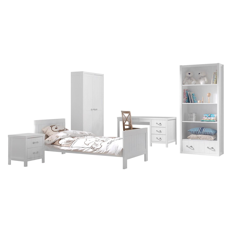 home24 Jugendzimmerkombi Lewis I (5-teilig) | Kinderzimmer > Jugendzimmer | Weiss | Holzwerkstoff | Vipack