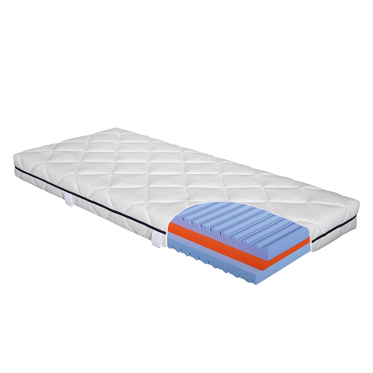 Matelas en mousse froide I Waterlily - 180 x 200cm, Hn8 Schlafsysteme