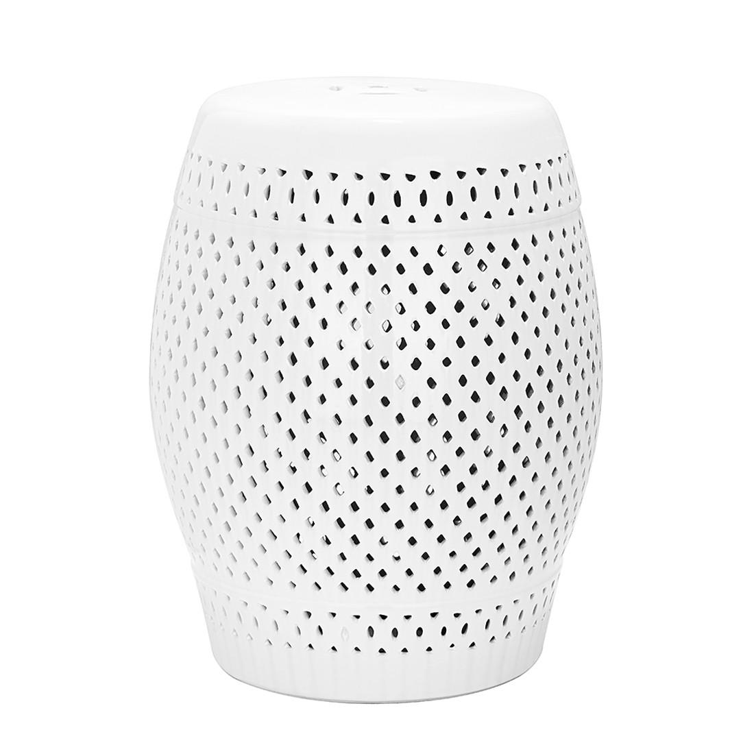home24 Keramikhocker Diamond