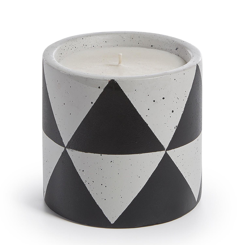 home24 Kerze OKA | Dekoration > Kerzen und Kerzenständer > Kerzen | Schwarz | Keramik | twentyfour
