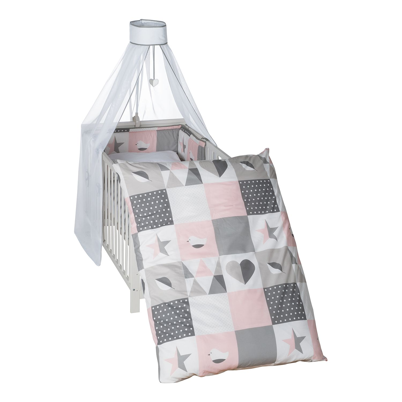 home24 Kinderbettset Happy Patch (4-teilig) | Kinderzimmer > Textilien für Kinder > Kinderbettwäsche | Roba