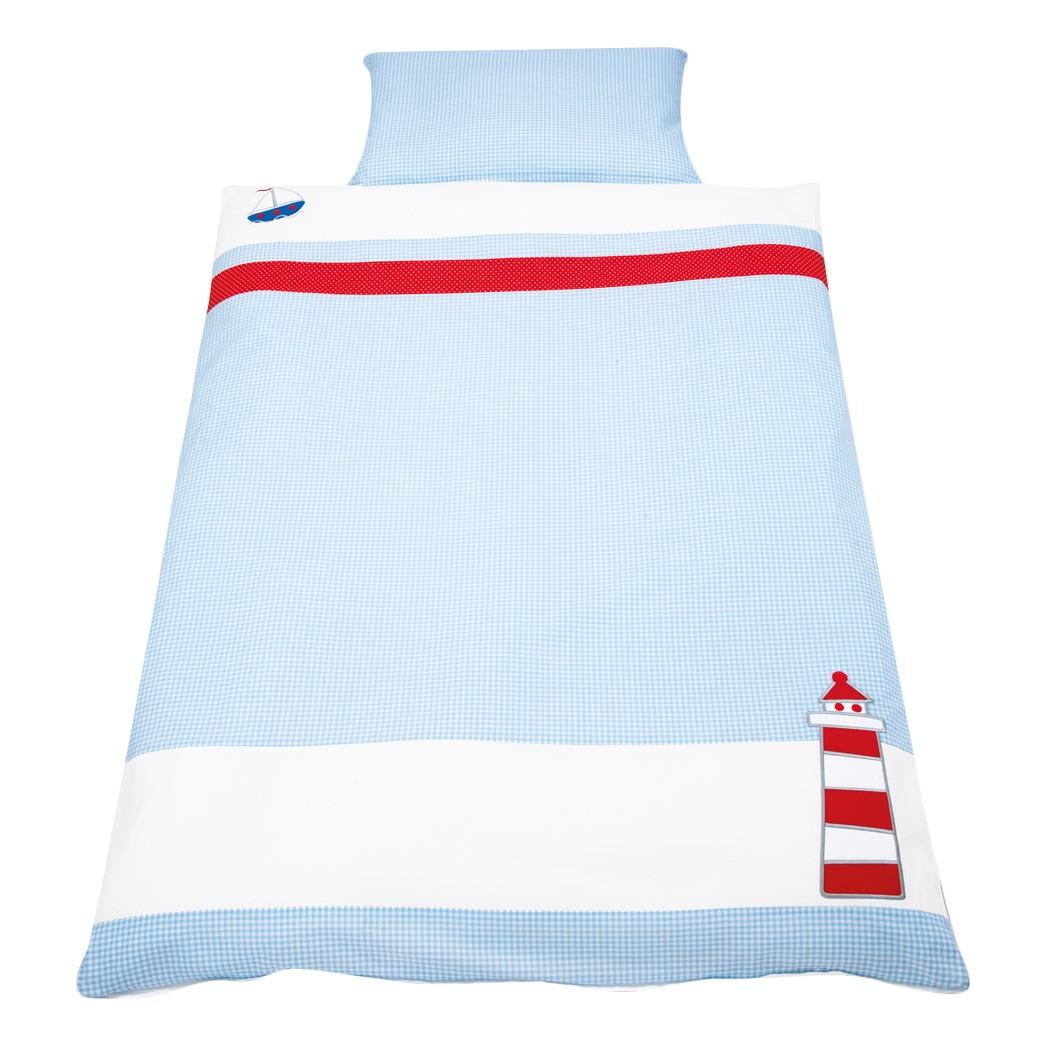 Parure de lit pour bébé Schiff Ahoi
