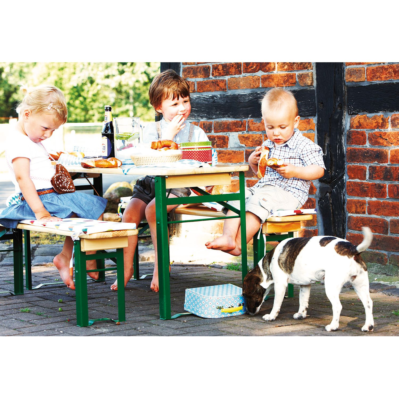 Kinderfestzeltgarnitur SEPP - Stellmöglichkeit
