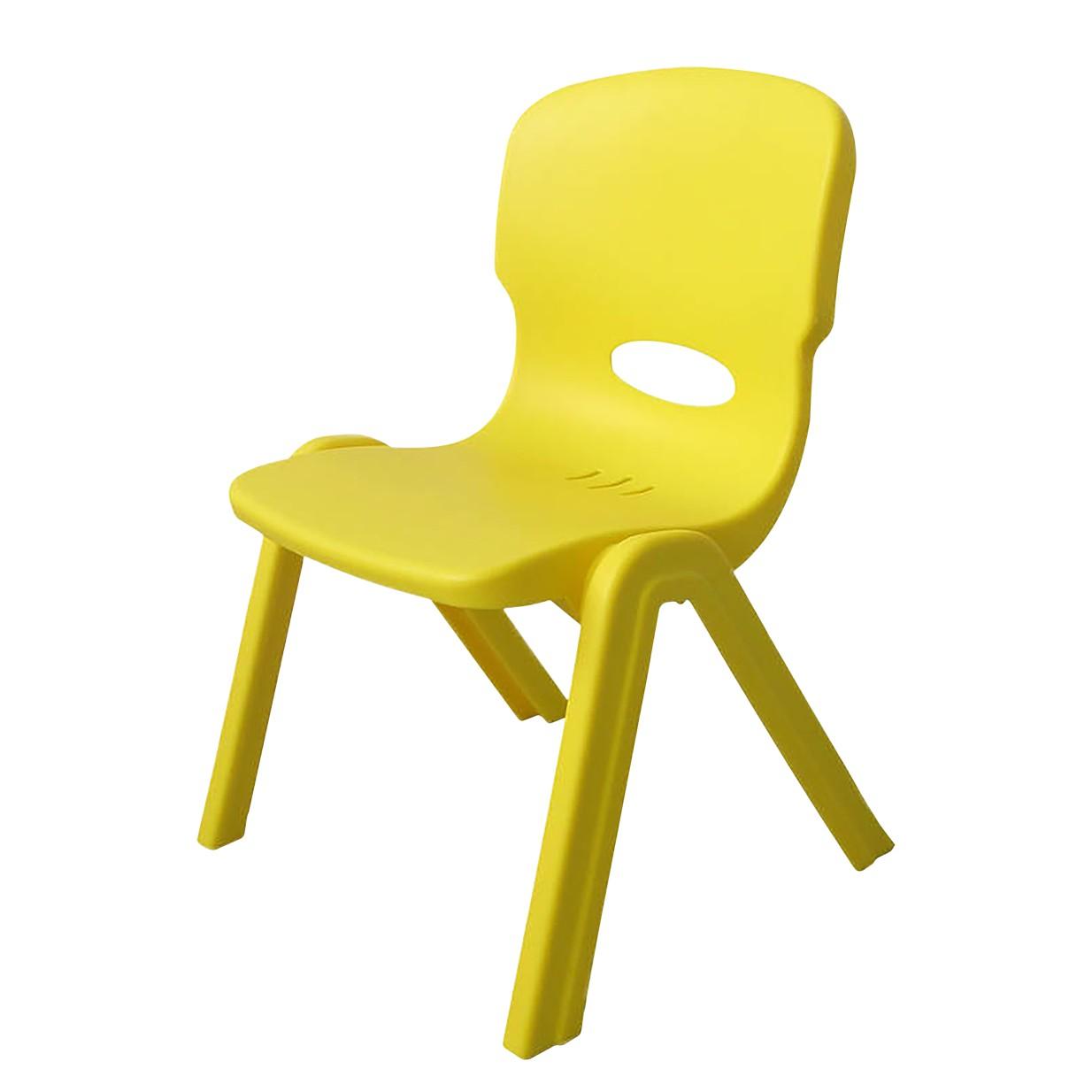 home24 Kinderstuhl Nina Mini | Kinderzimmer > Kinderzimmerstühle | Gelb | Kunststoff | Kayoom