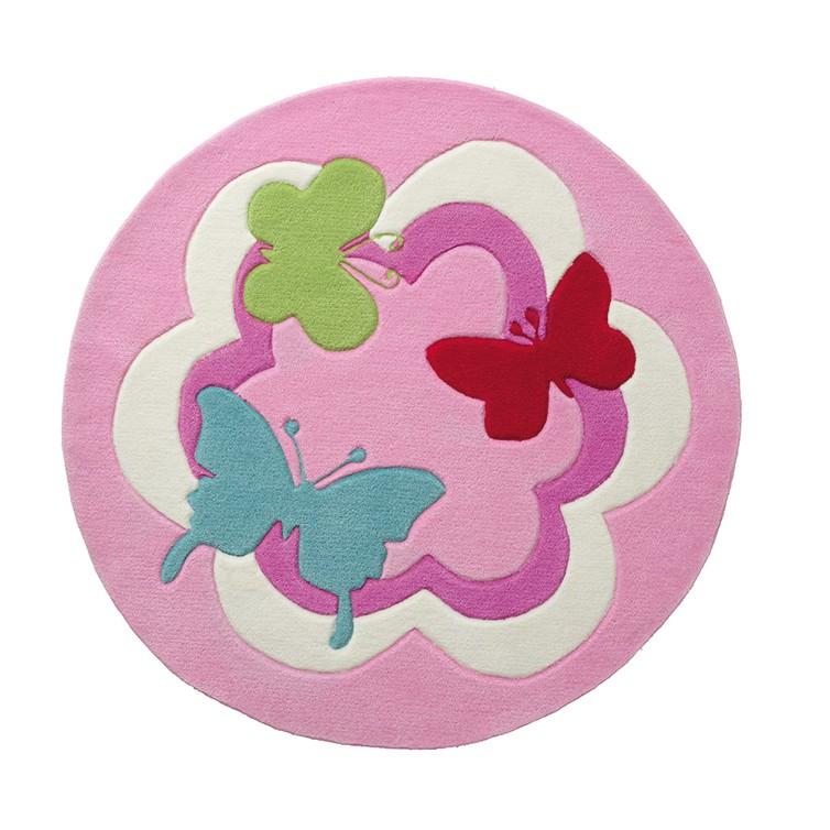 Kinderteppich Butterfly Party, Esprit